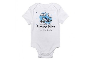 Future pilot like Daddy Infant Bodysuit
