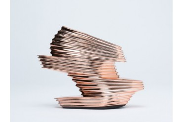 Zaha Hadid X United Nude Nova in Rose Gold size 9.0