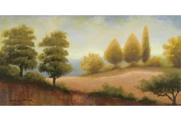 September Countryside Poster Print by Michael Marcon (10 x 20)
