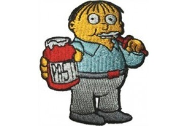 Ralph Wiggums Simpsons Patch