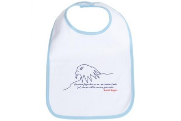 Eagle Eagle Bib by CafePress
