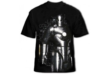 Iron Man Mach One Men's T-Shirt (Black)
