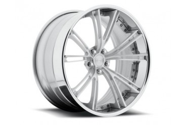 Niche Wheels 3-Piece Series A580 Ritz 24 Inch Wheel