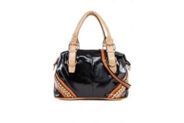 Passion Braided PU Shoulder Bag