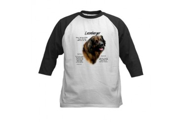 Leonberger Pets Kids Baseball Jersey by CafePress