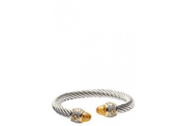 Citrine Cable Bangle