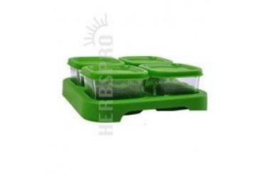 Glass Baby Food Storage Cubes 4 PK