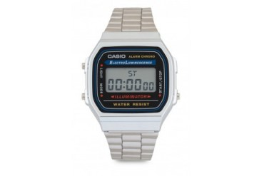 Casio Silver A168WA-1WDF Watch