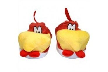 Looney Tunes Foghorn Leghorn Plush Head Slippers