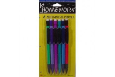 Ddi Mechanical Pencils - 6 Pack - .5mm -Lead (pack Of 48)