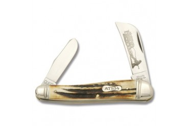 Titusville Farmers Jack with Genuine Stag Handle and ATS-34 Blades
