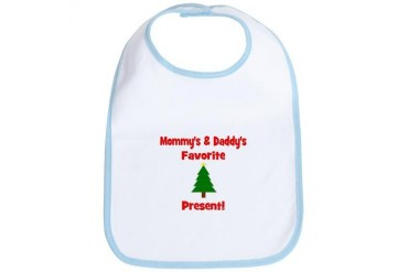 Mommy Daddy's Favorite Pres Pets Bib by CafePress