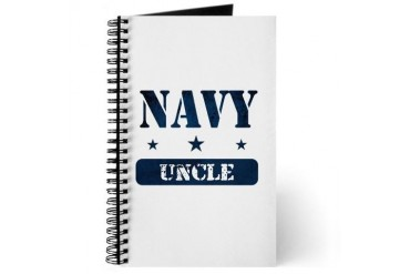 Navy Uncle Navy Journal by CafePress
