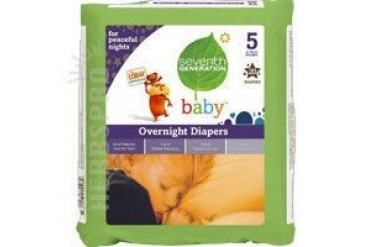 Baby Overnight Diapers Stage 5 20 CT(case of 4)