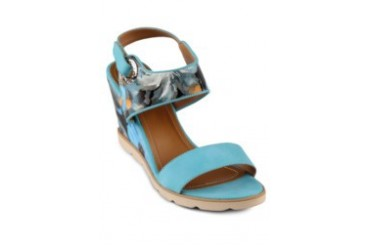 FLY Diedre Wedges Shoe Sandals Blue