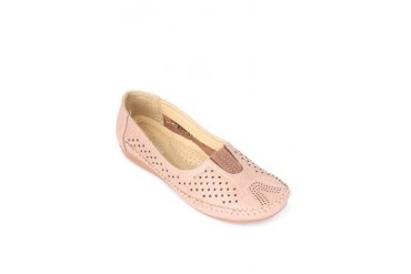 Pink Flat Loafers