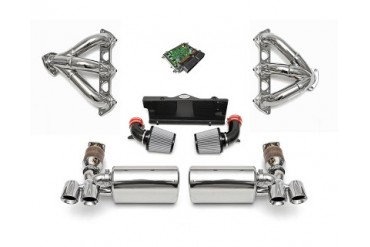 Fabspeed Sport Performance Package with ECU Black Tips Porsche 997 Turbo 07-09