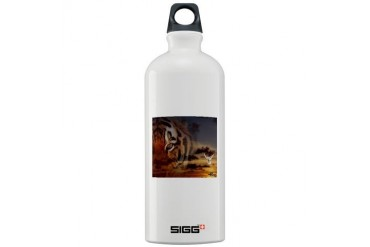 Tiger Spirit Unique Sigg Water Bottle 1.0L by CafePress