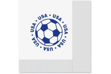 Ddi Luncheon Napkins - United States Soccer (pack Of 48)