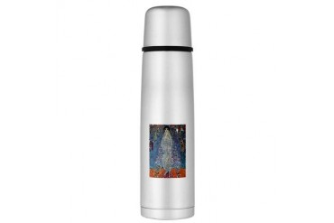 Gustav Klimt Baroness Elizabeth Large Thermos Bott Vintage Large Thermosreg; Bottle by CafePress