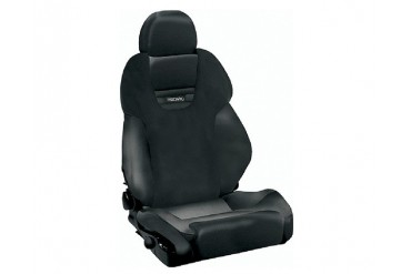 Recaro Style XL Topline Right Seat Black LeatherBlack Leather Black Logo