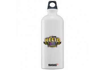 Team Helio Celebrity Sigg Water Bottle 1.0L by CafePress