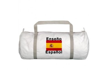 Enseno Espanol Spanish Teacher Bag Teacher Gym Bag by CafePress