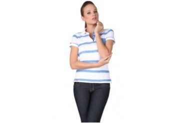 Heath Blue Polo Shirt