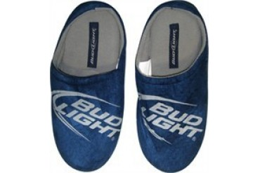 Anheuser-Busch InBev Bud Light Logo Slippers
