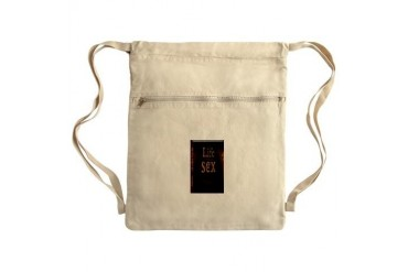 sex is good but Sack Pack Sex Cinch Sack by CafePress