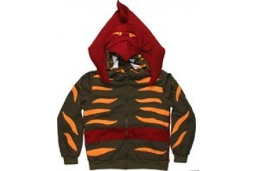 Masters of the Universe He-Man Battle Cat Costume Full Zipper Hooded Sweatshirt