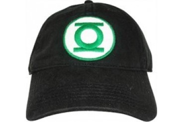 DC Comics Green Lantern Logo Embroidered Buckle Closure Hat
