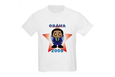 Barack Obama 2008 Kids Light T-Shirt