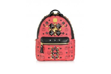Red Stark Brock Small Backpack