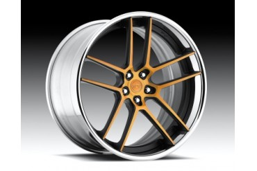 Niche Wheels 3-Piece Series A310 Fiorano 24 Inch Wheel