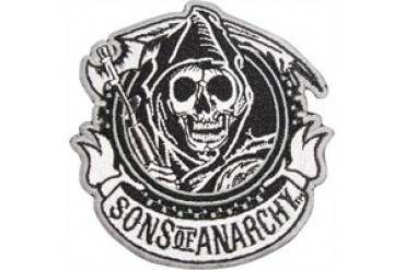 Sons of Anarchy Circle Reaper Logo Patch