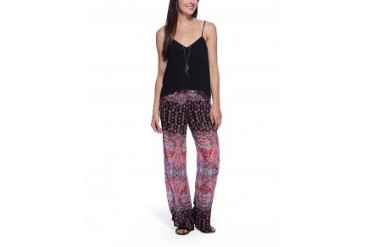 Eight Sixty Turkish Paisley Print Jumpsuit Multi, XS