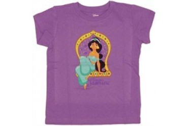 Disney Aladdin Princess Jasmine Sit Window Youth T-Shirt
