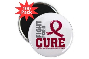 Sickle Cell Anemia Fight Cancer 2.25 Magnet 100 pack by CafePress