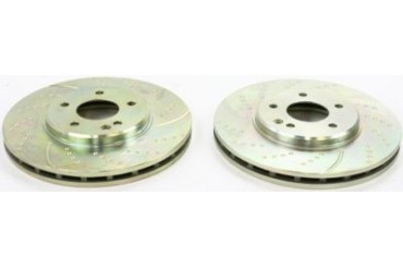 2001-2004 Mercedes Benz SLK320 Brake Disc Bolton Premiere Mercedes Benz Brake Disc REPM271111 01 02 03 04