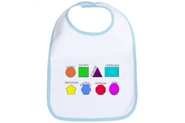 geometrics Cool Bib by CafePress