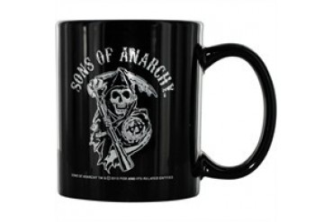 Sons of Anarchy Reaper Black 12 Ounce Coffee Mug