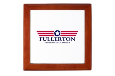 Fullerton Pride California Keepsake Box by CafePress