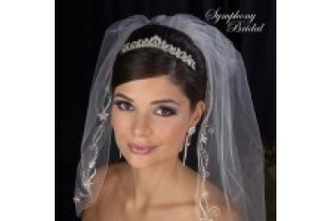 Symphony Bridal Crowns - Style 7426CR