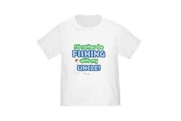FISHING WITH MY UNCLE Toddler T-Shirt