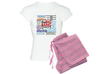 Big Bang Quotes Women's Light Pajamas