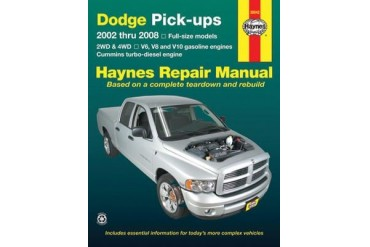 2002-2003 Dodge Ram 1500 Manual Haynes Dodge Manual 30042 02 03