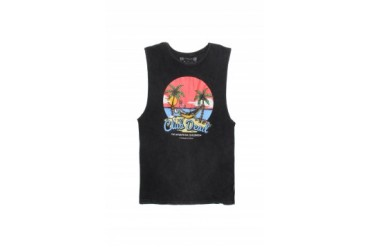Mens Vanguard Tank Tops - Vanguard Club Dead Muscle Tank Top