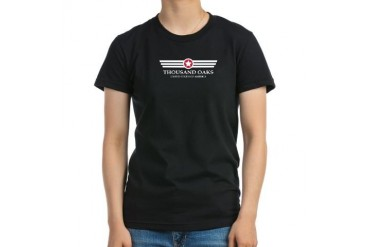 Thousand Oaks Pride California Women's Fitted T-Shirt dark by CafePress