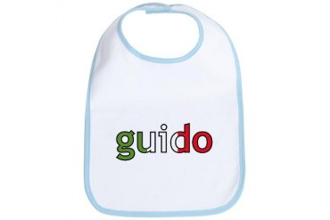 guido Italian Bib by CafePress